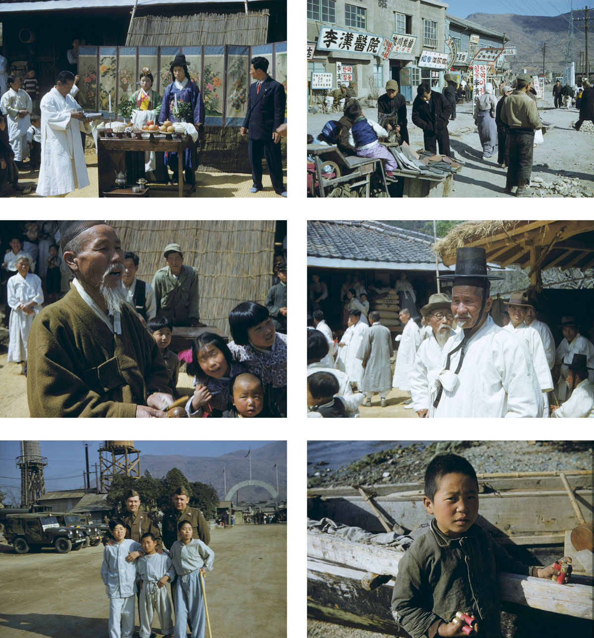 Some Of The Old Photos From South Korea 1952